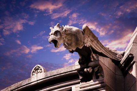 gargoyle of church