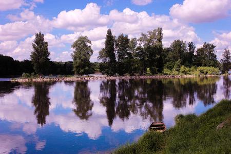 La Loire de la France Banque d'images - 77448708