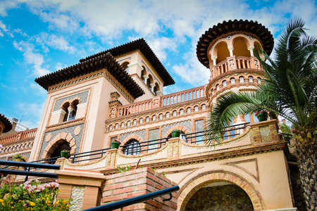 Casa de Los Navajas in Spain Banque d'images - 149125416