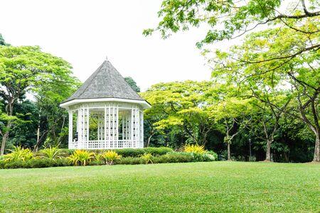 싱가포르 식물원의 풍경