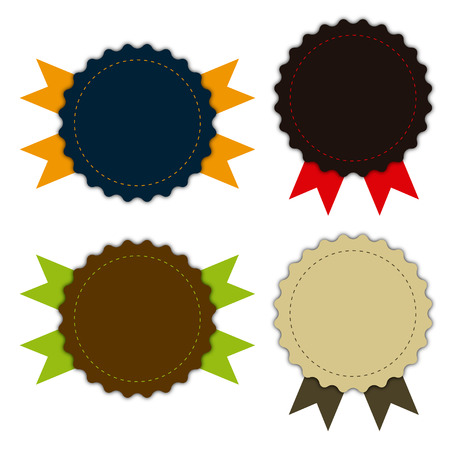 Medal fabric vintage, promotions or qualities
