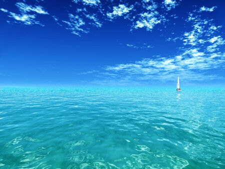 blue sky Banco de Imagens