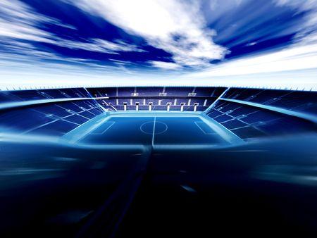 Fußball-Arena  Standard-Bild - 767593