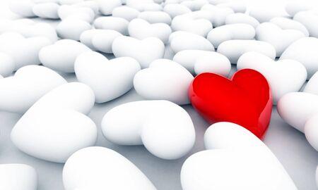 red heart Banco de Imagens