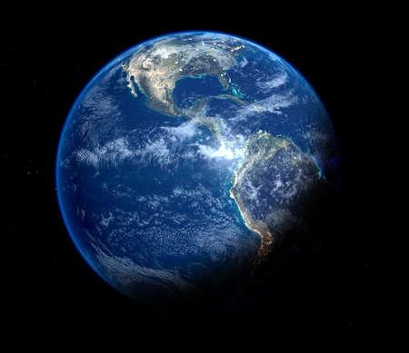 青い地球 写真素材 - 793406