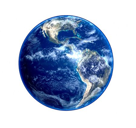 environment geography: blue earth