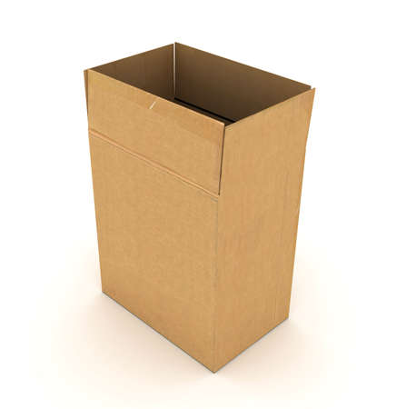 cardboard box Banco de Imagens