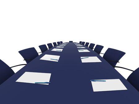 Sitzungssaal Tabelle Standard-Bild - 799870