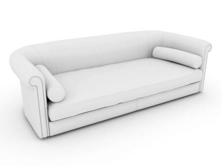 3d couch Banco de Imagens