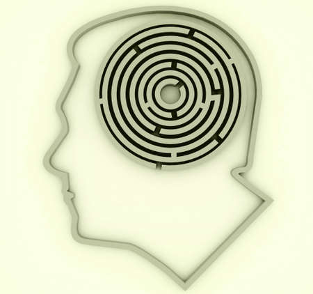 Gehirn Standard-Bild - 864284