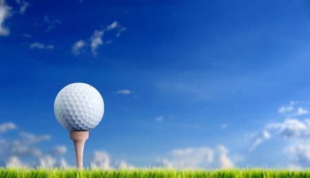 golf Standard-Bild