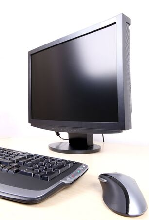 desktop computer Stock Photo - 7903799