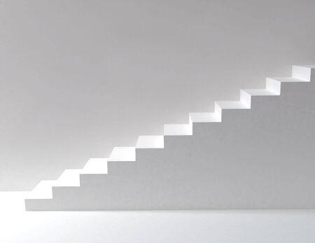 ascend: stairs Stock Photo