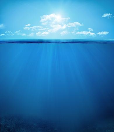 ocean, underwater