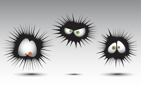 funny monsters Stock Vector - 17589075