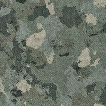 Dirty camouflage fabric texture background