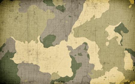 Sfondo trama tessuto mimetico sporco camouflage Archivio Fotografico