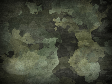 Dirty camouflage fabric texture