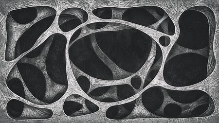 Geometrical background. Imitation of a pencil drawing Zdjęcie Seryjne - 125338388