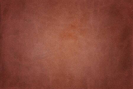 Close up of brown leather background
