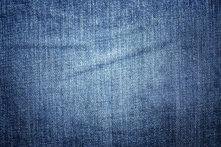 Blue jean texture for background