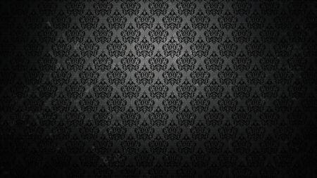 Dark wallpaper in a retro style Zdjęcie Seryjne