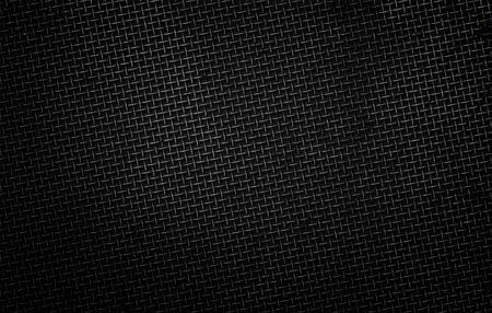 Illustration of a metal mesh on a dark background Zdjęcie Seryjne