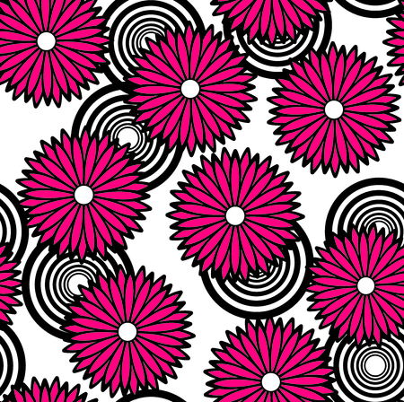 It is an illustration of the flower  Vector