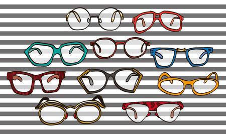 メガネのイラストです。