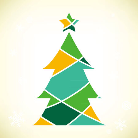 christmas tree: It is an illustration of the Christmas tree.