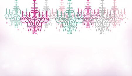 This is an illustration of the chandelier. Illustration