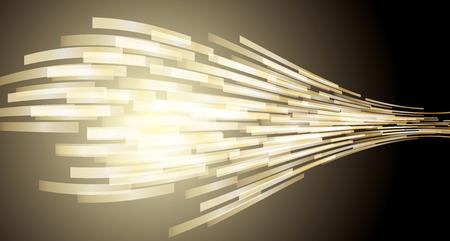 Dies ist eine Darstellung der abstrakten Technologie. Vektorgrafik