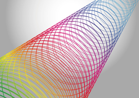 business graphics: Vector illustration of abstract technology.