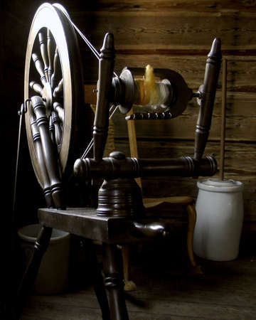 colonizer: Antique spinning from another time
