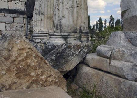 humanistic: Greek Ruins of Delphi