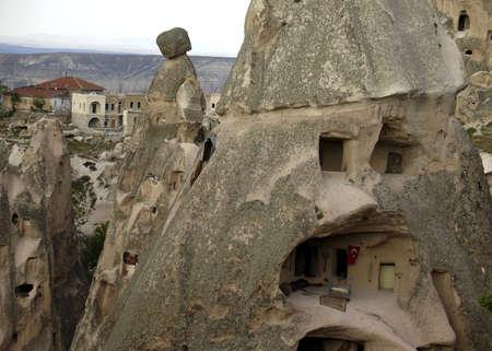 lodger: Turkish Hillside Homes Stock Photo