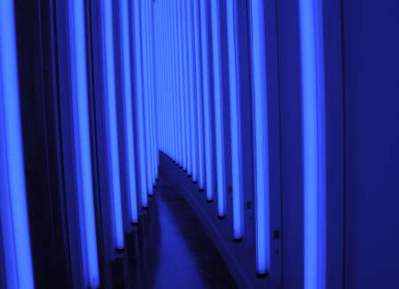 Blue Light Corridor photo