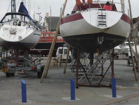 briny: Boat Repair Normandy France