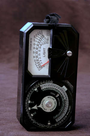 Camera Exposure meter Stock Photo