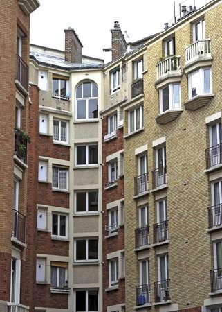 Paris France apartment house
