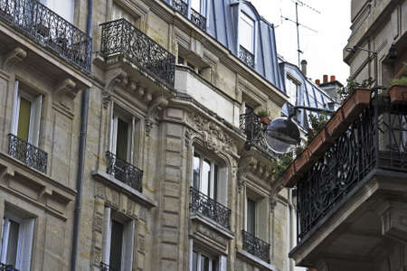 Paris France and living in close quarter photo