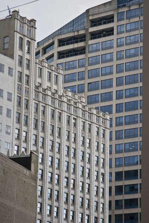 Croissance au centre-ville d'Amérique Banque d'images - 2615097