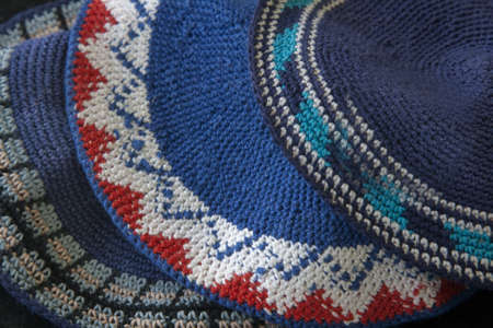 holiday prayer book: Jewish Skullcaps or know as Kippahsgg