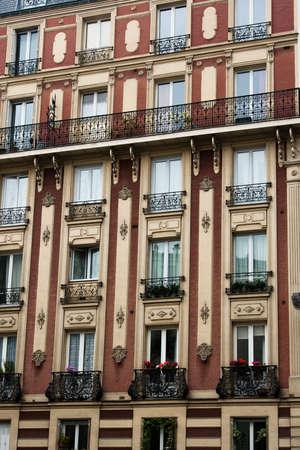 Paris homes of the wealthy Banco de Imagens