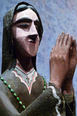 Woman taking a moment for prayer Фото со стока