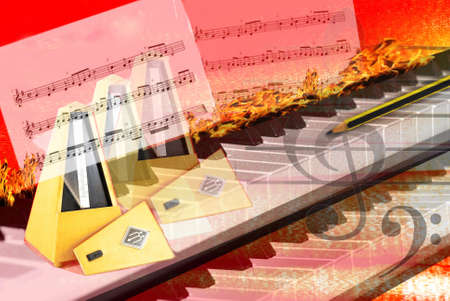 Music Composition creative hard in the piano