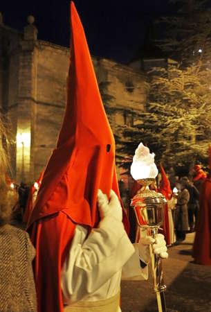 procession: Pascua semana penitente en la procesi�n