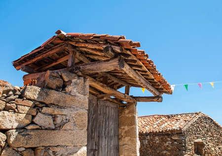 Old door in the village