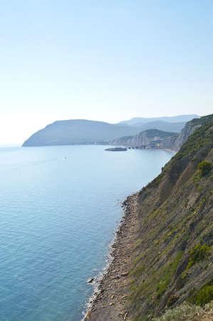 Blue bay view photo