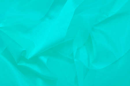 Turquoise silk background